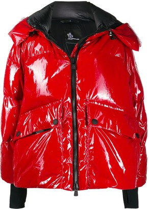 MONCLER GRENOBLE High-Shine Quilted Jacket