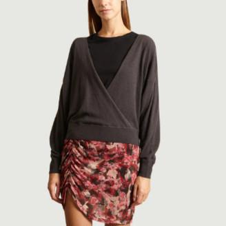Dewalt IRO Paris - Anthracite Wool Knuckle Sweater - s   wool   anthracite
