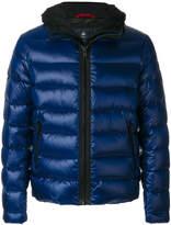 Fay slim-fit padded coat