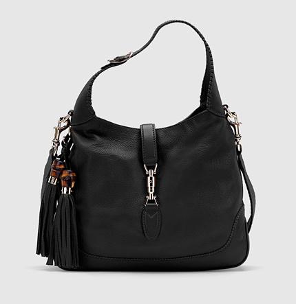 Gucci New Jackie Leather Shoulder Bag