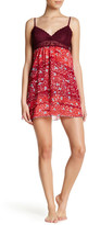 Josie Lace and Print Babydoll Dress