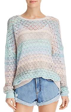 Show Me Your Mumu Pie in the Sky Pointelle Sweater