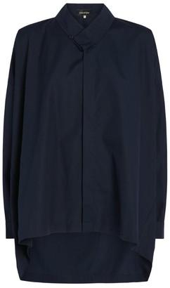 eskandar Step-Hem Silk Shirt