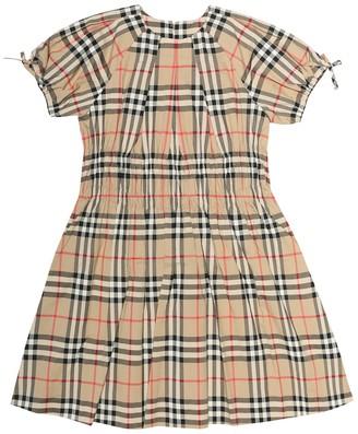 Burberry Joyce Vintage Check cotton dress