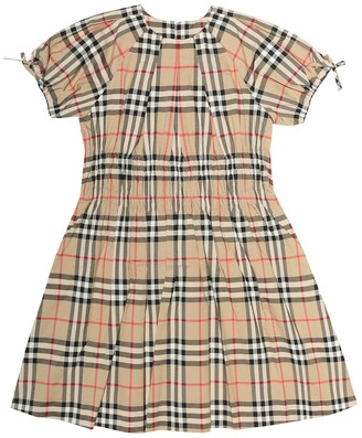 BURBERRY KIDS Joyce Vintage Check cotton dress