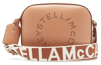 Stella McCartney Stella Small Faux-leather Cross-body Bag - Camel