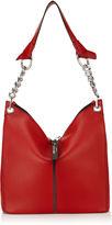 Jimmy Choo RAVEN/S Red Nappa Small Shoulder Bag