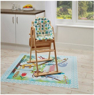 East Coast Nursery Tropical Friends Highchair Insert & Splash Mat