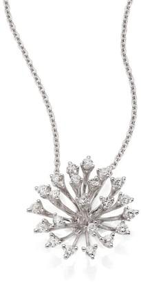 Hueb Luminus Diamond & 18K White Gold Pendant Necklace
