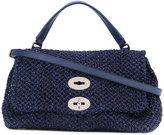 Zanellato open weave shoulder bag - women - Paper/Leather - One Size
