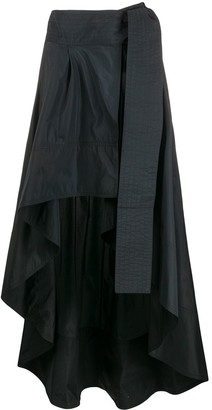Pinko High-Low Hem Skirt