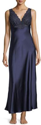 Christine Lingerie Bijoux Lace-Trim Nightgown
