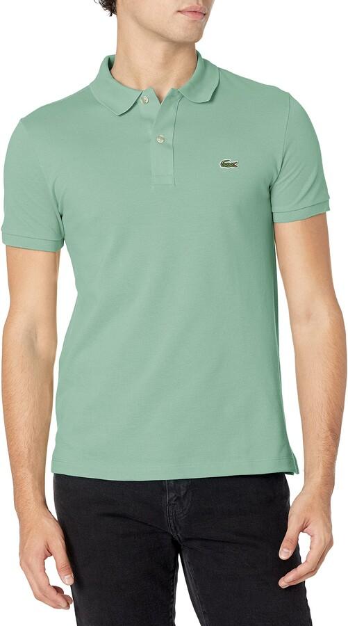 Men's Classic Pique Slim Fit Short Sleeve Polo Shirt