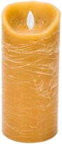 Boston Warehouse Taupe Flamless 7 Pillar Candle