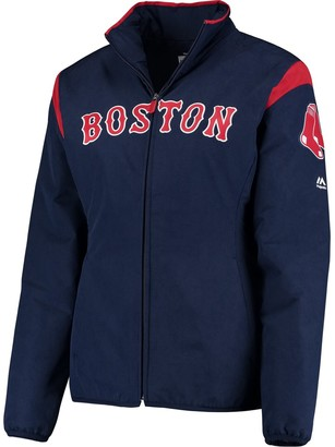 Majestic Women's Navy Boston Red Sox On-Field Thermal Jacket