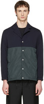 Tim Coppens Navy and Green Coach Jacket