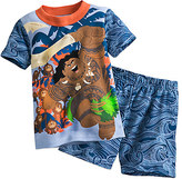 Disney Maui and Kakamora PJ PALS Short Set for Boys Moana