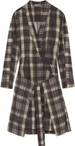 Etoile Isabel Marant Vanessa checked cotton dress
