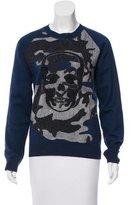 Lucien Pellat-Finet Skull Crew Neck Sweatshirt