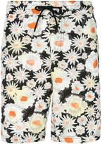 Burberry Daisy print swim shorts
