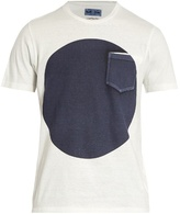 Blue Blue Japan Circle-print cotton T-shirt