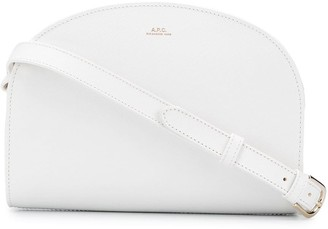 A.P.C. Curved Top Shoulder Bag