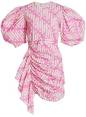Rhode Resort Pia Puff-Sleeve Cotton Dress