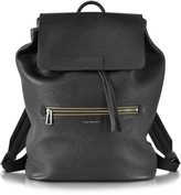 Paul Smith Black Hammered Leather Men's Backpack