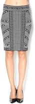 Bishop + Young Printed Knit Skirt