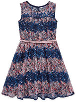 Knitworks Knit Works Sleeveless Skater Dress - Big Kid