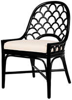 David Francis Furniture Koi Side Chair - Black