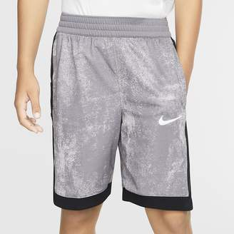 Nike Boys' Printed Basketball Shorts Dri-FIT Elite
