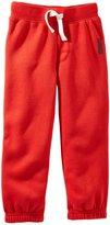 Osh Kosh Fleece Athletic Pants (Baby) - Navy-18 Months