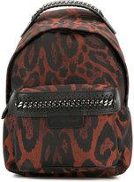 Stella McCartney leopard print mini Falabella Go backpack