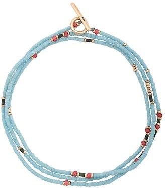 M. Cohen Multi Beaded Bracelet With 18k Gold Detail