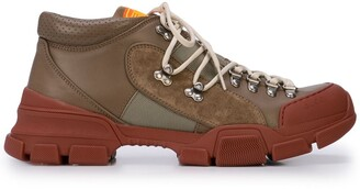 Gucci lace-up hiking sneakers