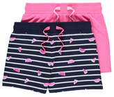 George 2 Pack Jersey Shorts