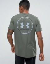 Under Armour Mantra T-shirt With Back Print In Green 1289893-330