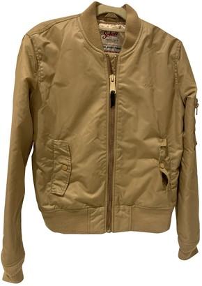 Schott Gold Jacket for Women