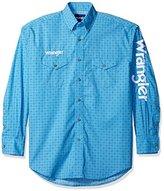 Wrangler Men's Dodge Ram Rodeo Series Woven Shirt