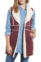 KUT from the Kloth Bridget Faux Shearling Vest