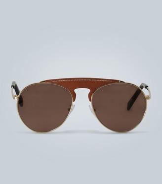 Loewe Metal aviator sunglasses