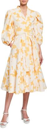 Stine Goya Belinda Flora Wrap Dress