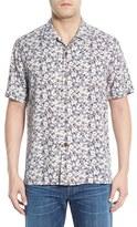 Tommy Bahama Men's 'Dundee Floral' Regular Fit Floral Short Sleeve Silk Camp Shirt