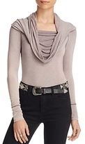 Free People Cosmo Cowl Neck Top