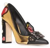 Dolce & Gabbana Women's Embellished Buckle Pump