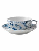 Royal Copenhagen Half Lace Tea Cup & Saucer