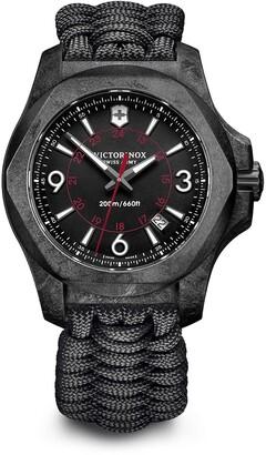 Victorinox Men's I.N.O.X. Paracord Bracelet Watch, 43mm