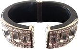 Prada Black Leather Bracelet