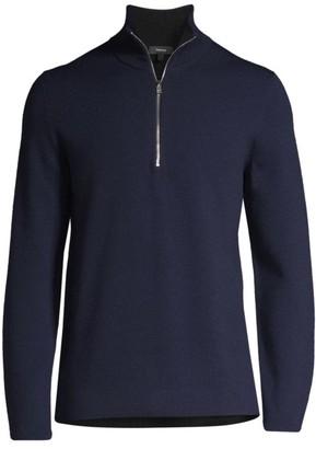 Theory Arnaud Quarter-Zip Sweater